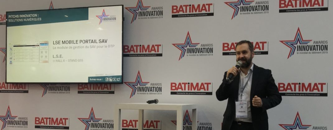 BATIMAT award Innovation
